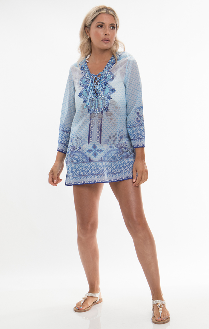 Amalfi Tunic - Blue