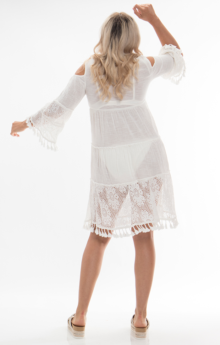 Caribe Tunic - White