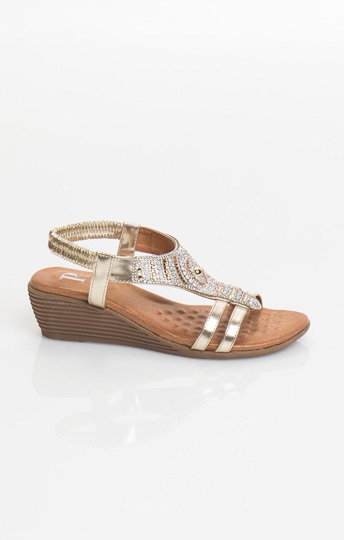 Gemini Shoe - Gold