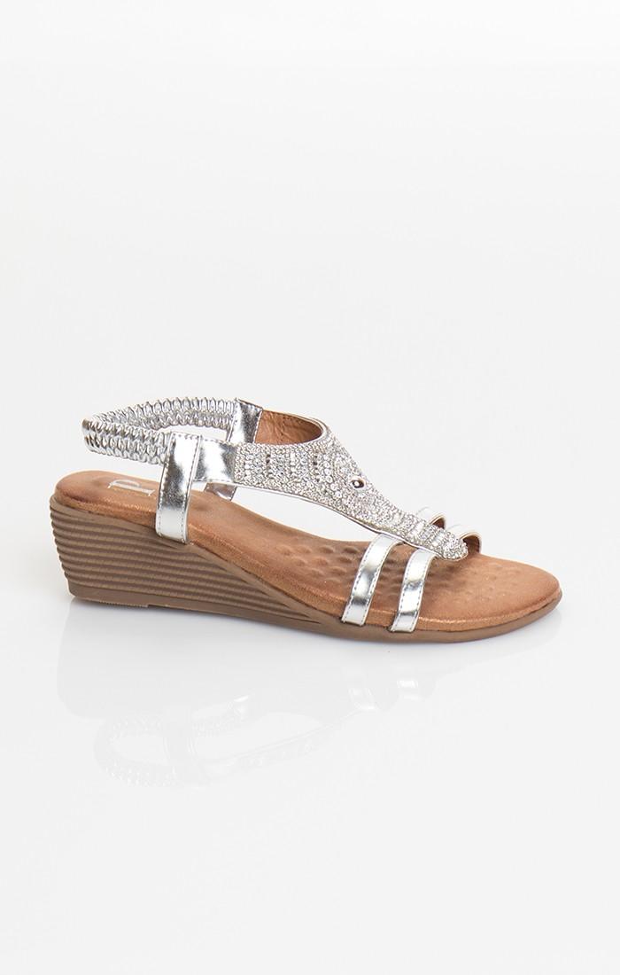 Gemini Shoe - Silver