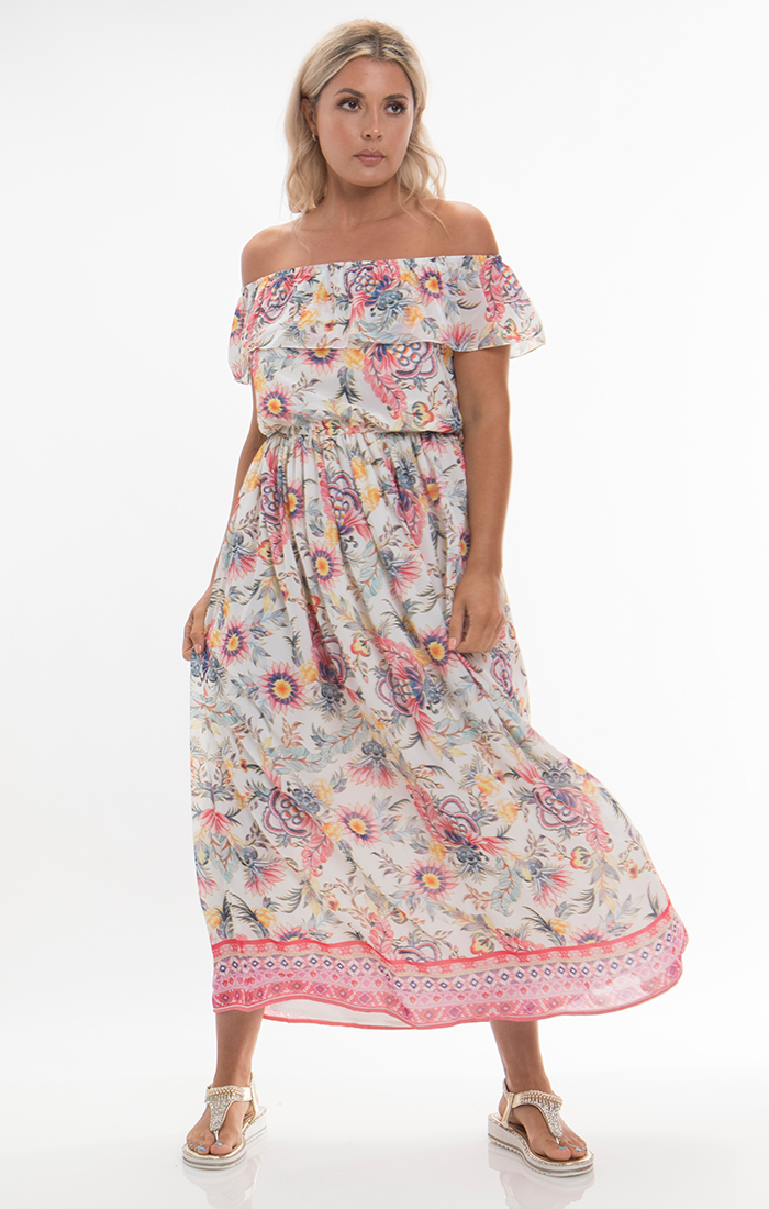 Mijas Maxi Dress - Pink