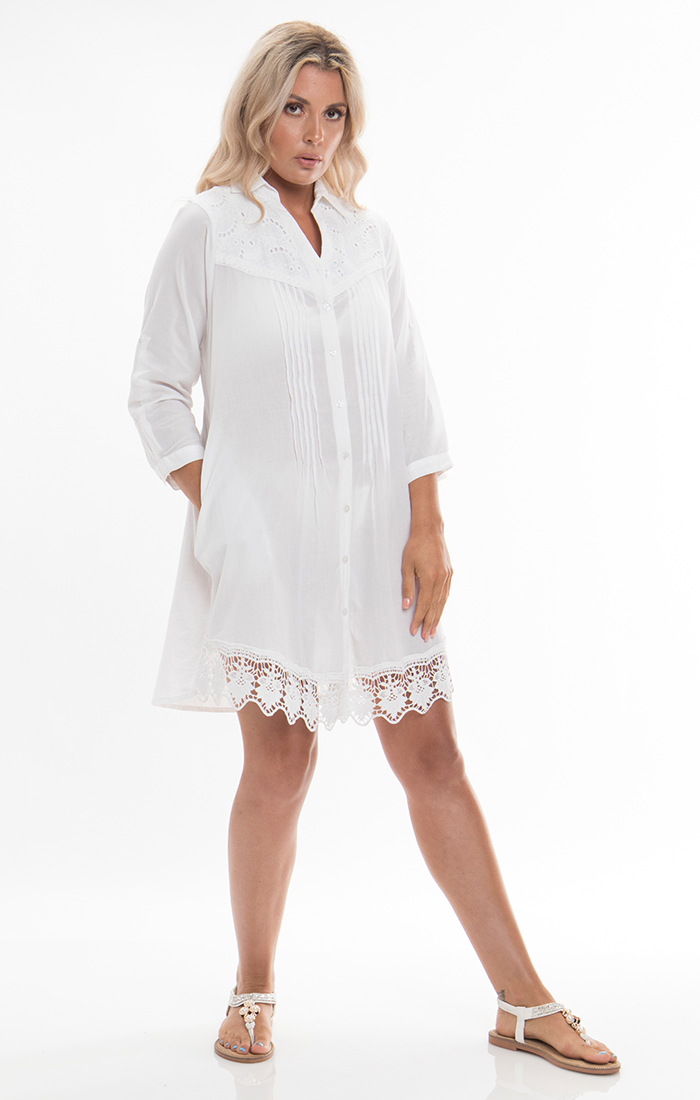 Rimini Tunic - White