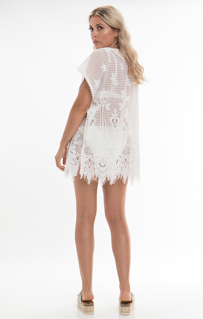 Sicila Coverup - White