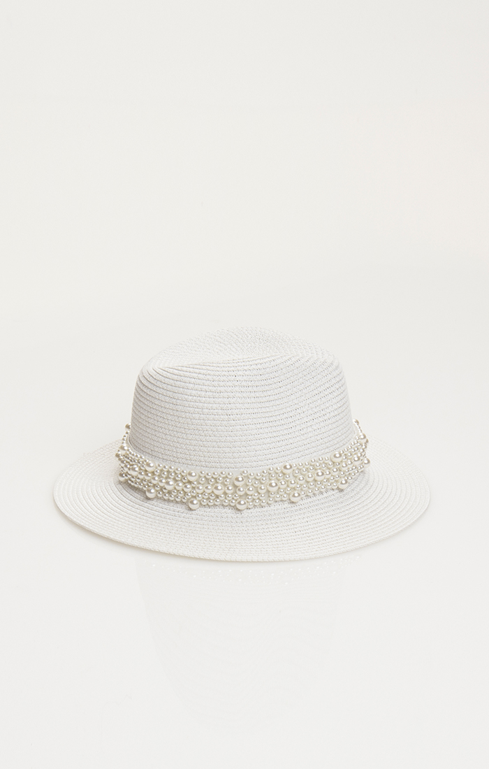 Verity Hat - White