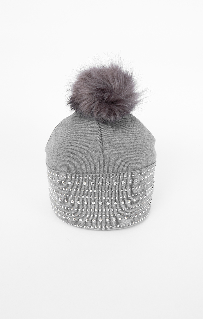 Adalyn Hat - Silver Grey