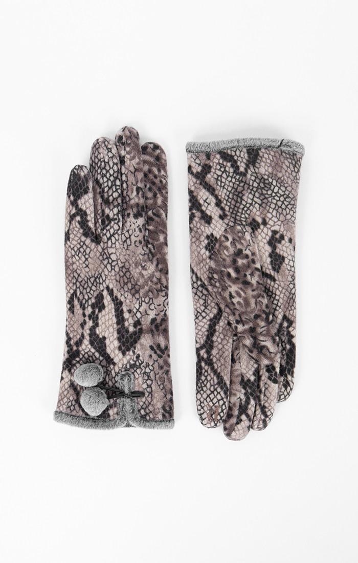 Athena Glove - Silver Grey
