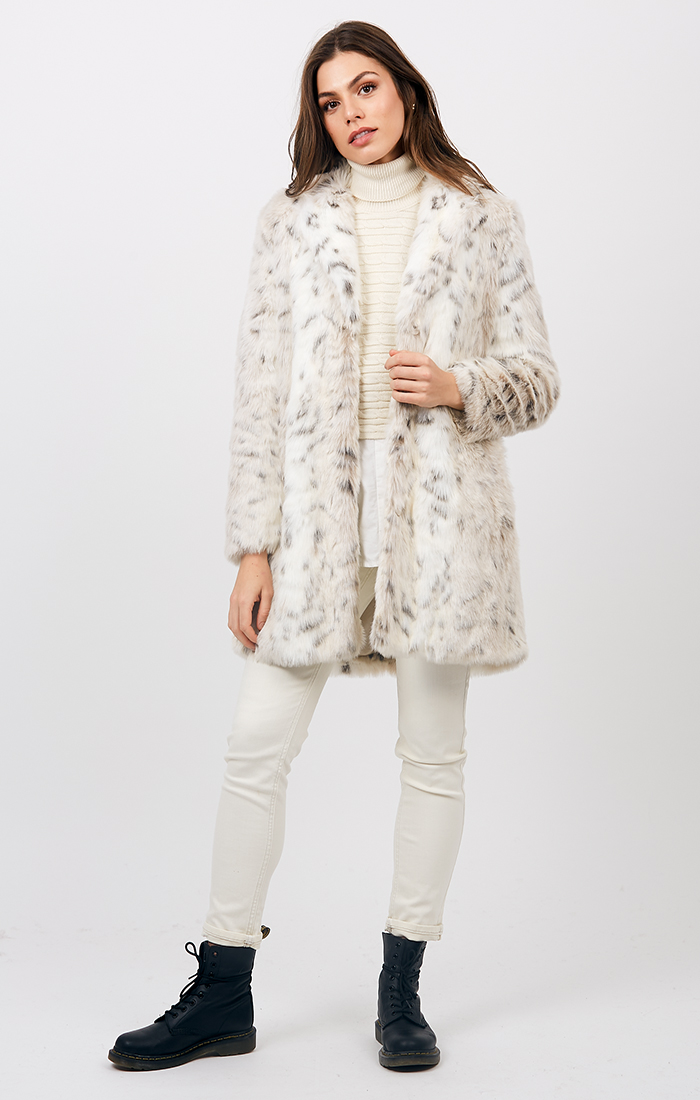 Bianca Coat - Snow Wolf