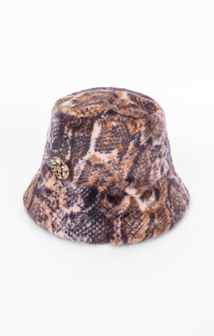Carmen Hat - Snakeskin