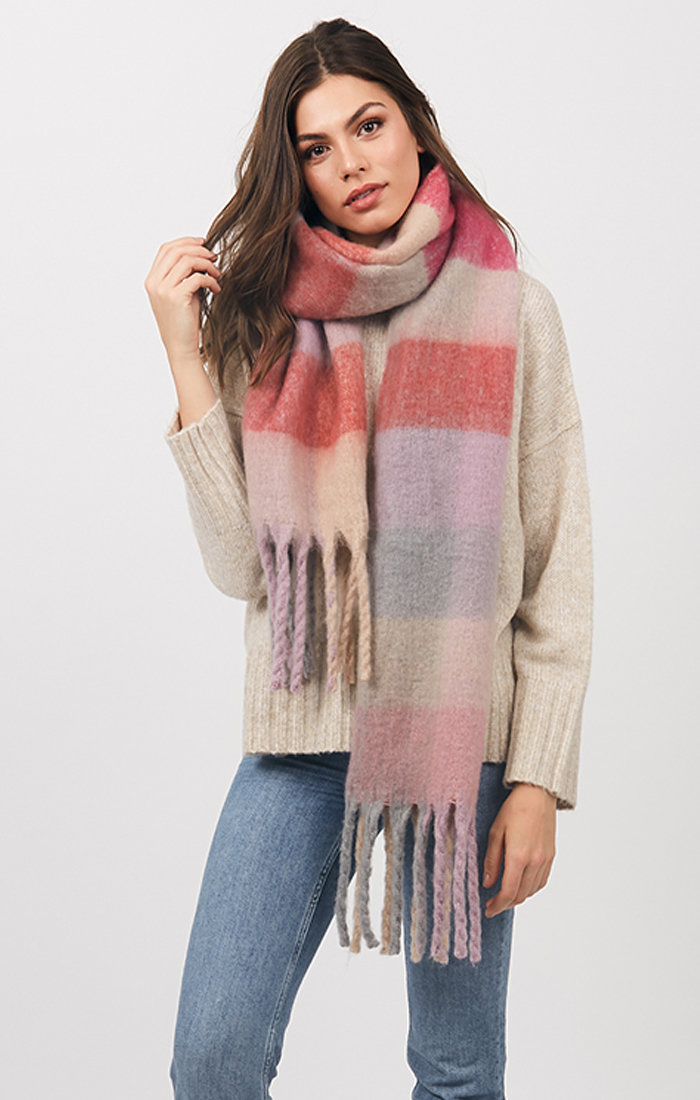 Carrington Scarf - Pink