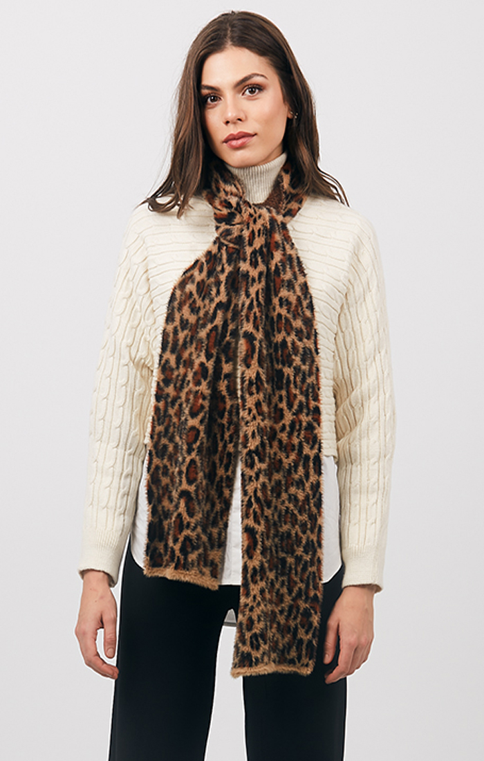 Felicia Scarf - Leopard