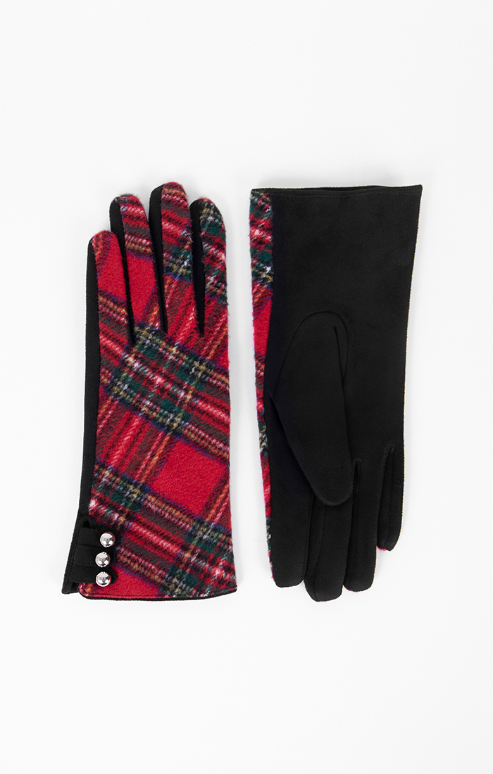 Holly Glove - Red