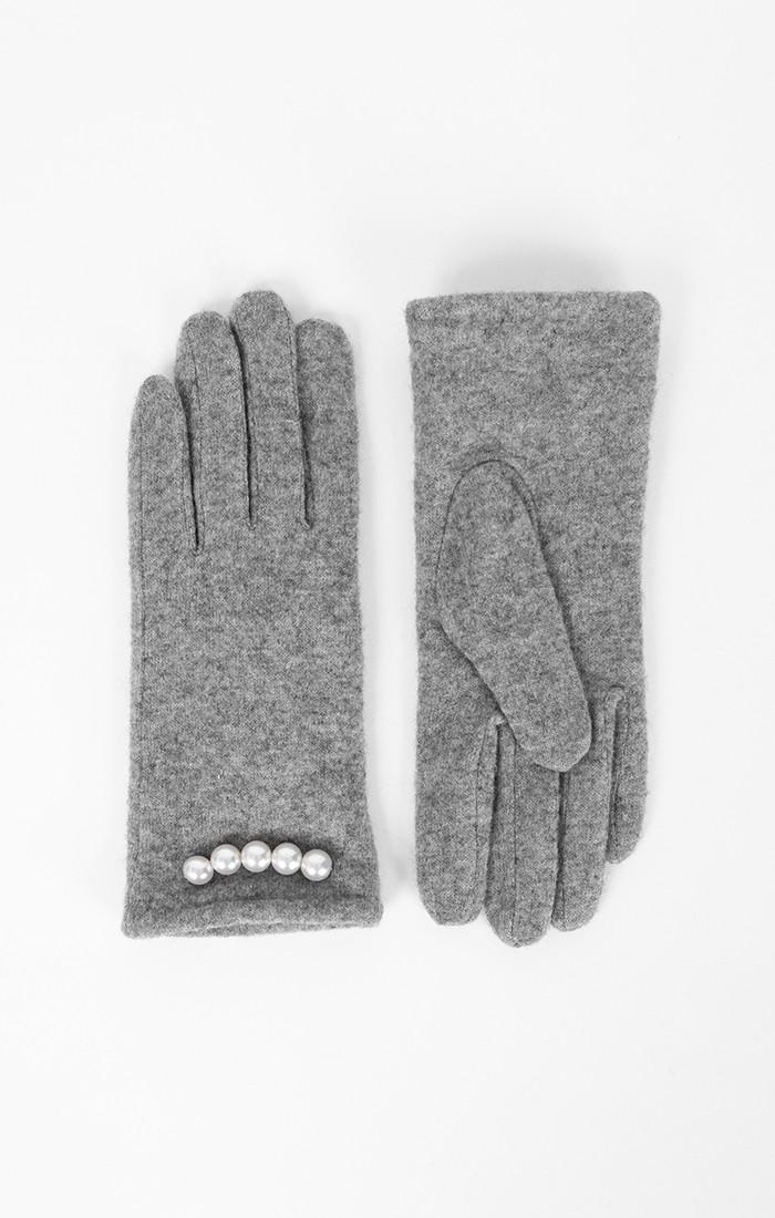 Ivanna Glove - Silver Grey