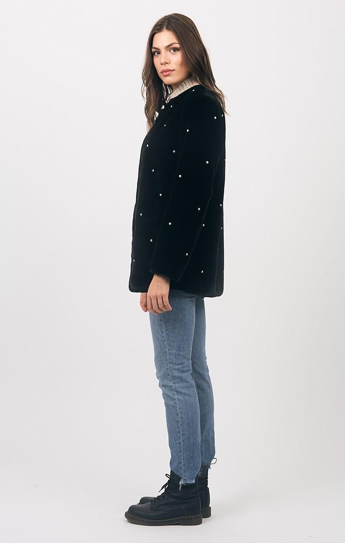 Jasmin Coat - Black