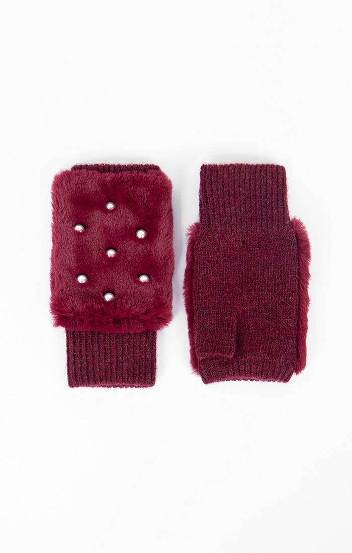 Jasmin Fingerless Glove - Berry