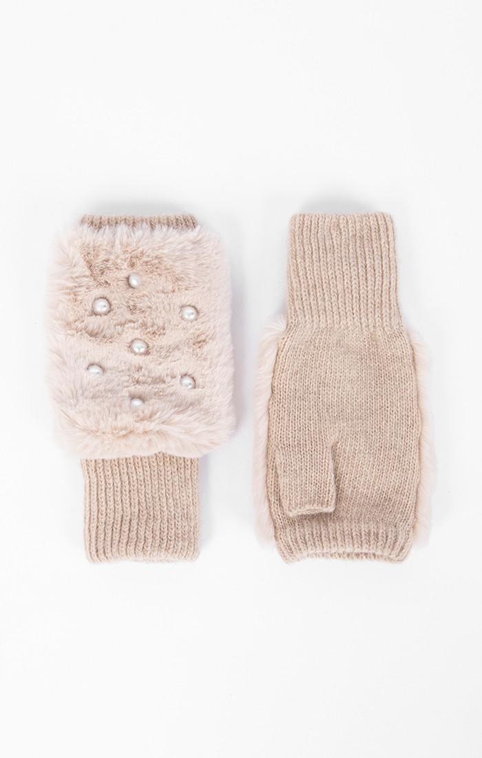Jasmin Fingerless Glove - Honey