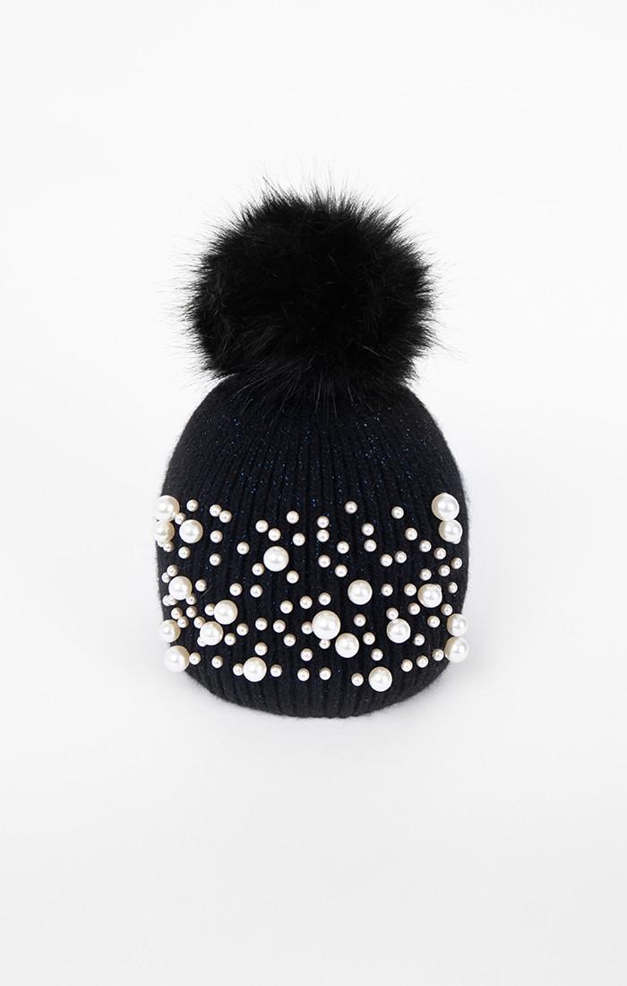 Krystal Hat - Black