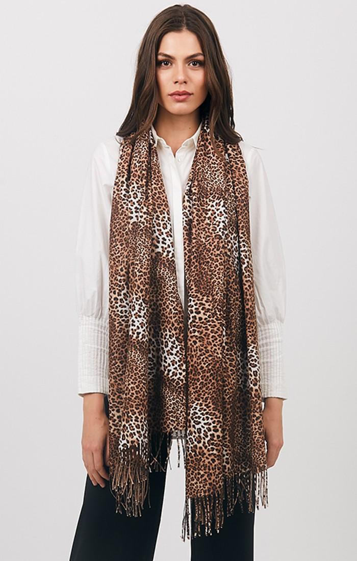 Stacy Scarf - Leopard