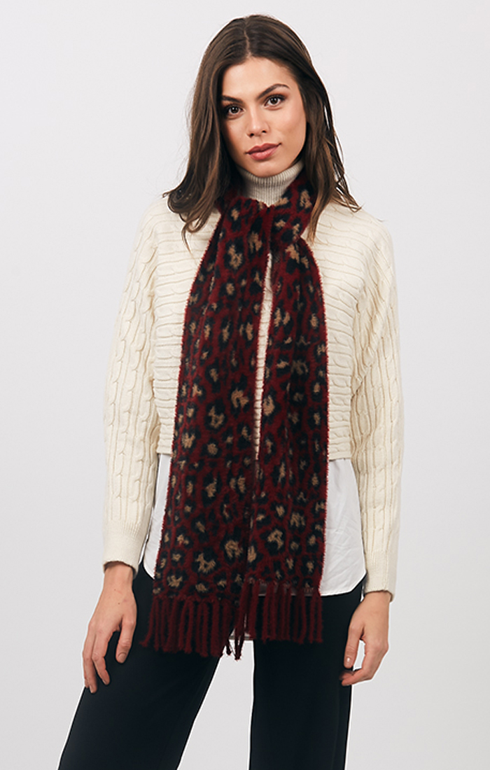 Verity Scarf - Red