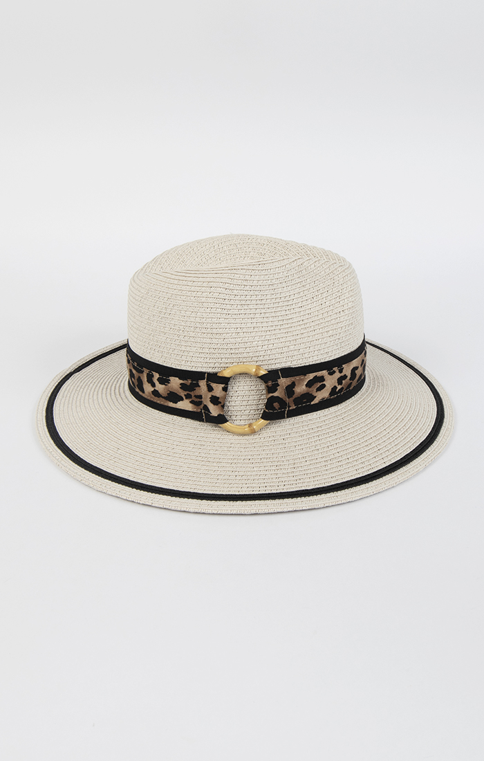 Leoni Hat - Silver Grey