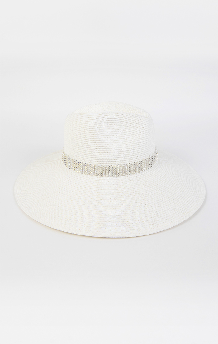 Lorena Hat - White
