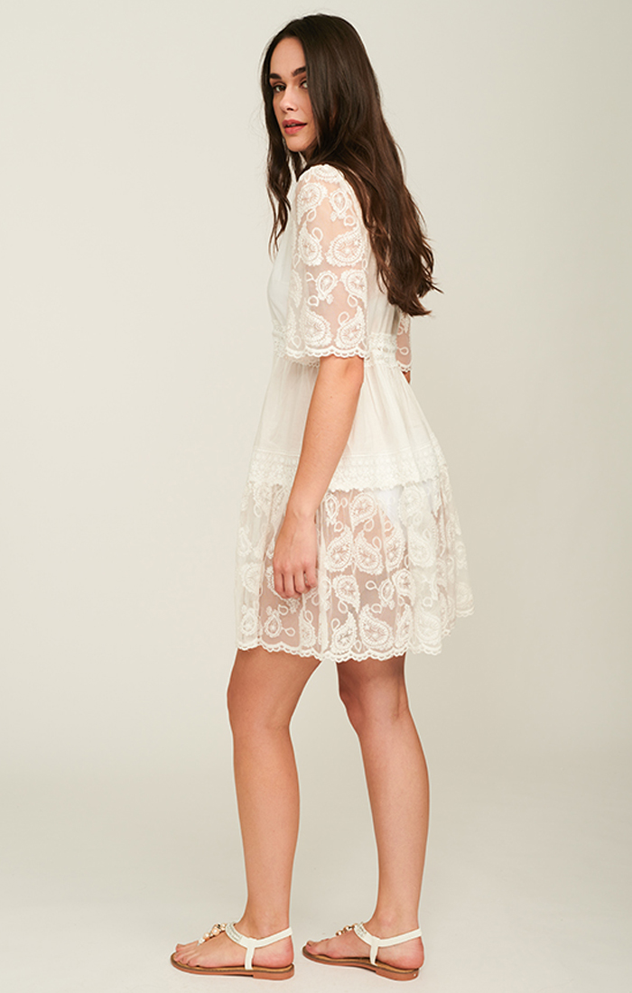 Lido Dress - White