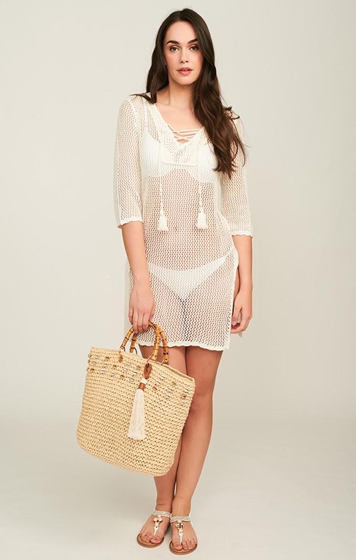 Riva Dress - Ivory