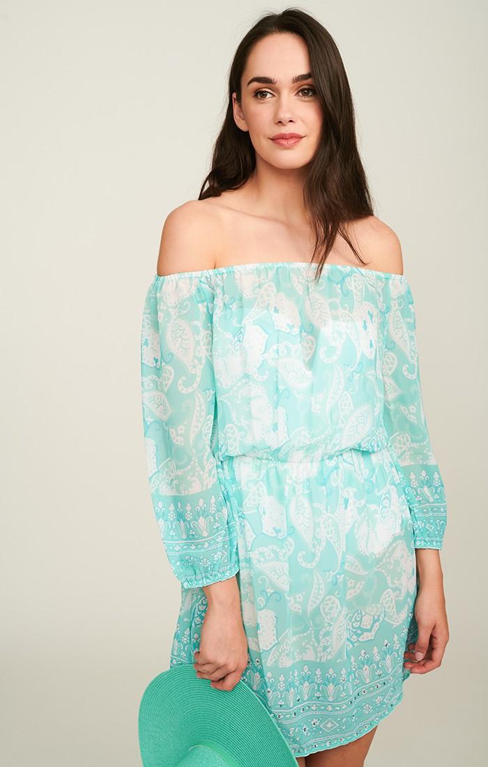 Lola Dress - Turquoise
