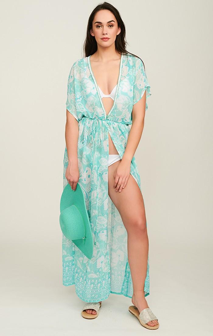 Lola Kimono - Turquoise