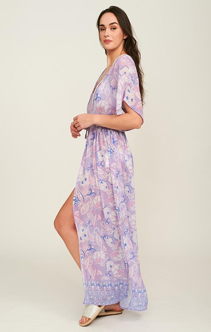 Lilah Kimono - Lilac