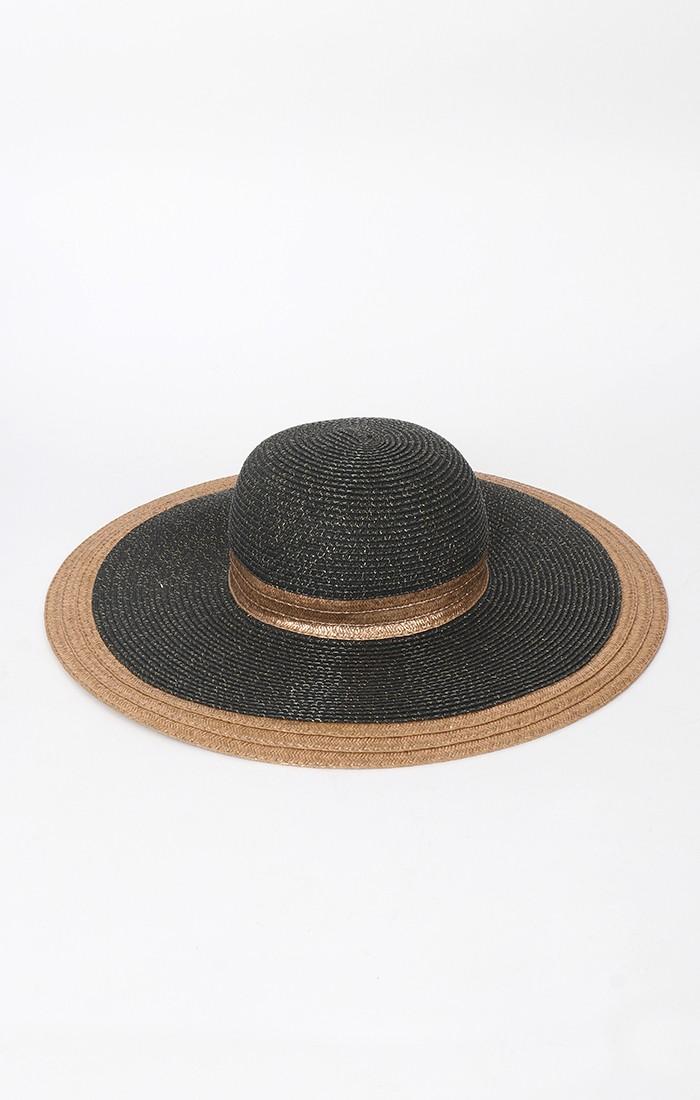 Victoria Hat - Black/Gold